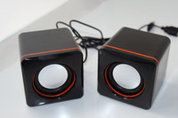 Wholesale Mini Super Bass Cheap Small Box USB Speaker Sound Box For Phones Computers IPod