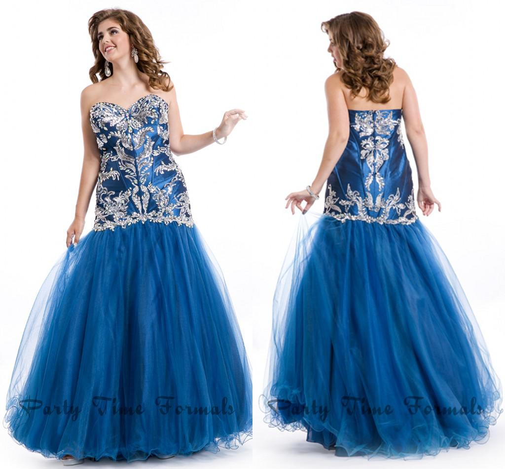 Larger Size Prom Dresses 103