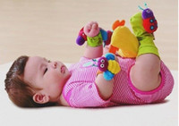 0-12 Months baby toys store - lamaze foot finder baby toy infant socks one pair socks many color in store