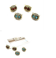 Wholesale New Vintage Style Jewelry Retro Fashion Lady Big Eyes Owl Stud Earring Earrings Pin Nail Women s Earrings Fashion pairs