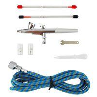 airbrush gun - Air Brush amp amp mm Spray Single Action Airbrush Gun Kit for Nail Paint Art Drawing