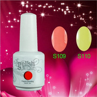 Wholesale 2014 New Hot Gelish Nail Polish Soak Off Nail Gel For Salon UV Gel Colors ml supply by rafi