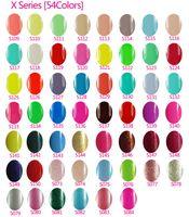 achat en gros de nail polish-Hot item Gelish Nail Polish Soak Off Gel Nail Salon Gel UV 242Colors 15ml fourniture par rafi