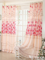 Wholesale Lace curtain fabric curtain window screening