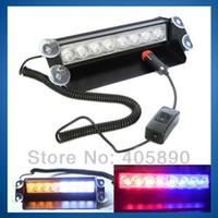 Wholesale New LED Strobe Light W V Car Flash Light Emergency Warning Light High Power
