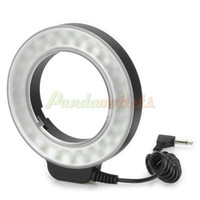 Wholesale WanSen W48 W lm LED Makro Macro Ring Lighting Flash for Canon Nikon