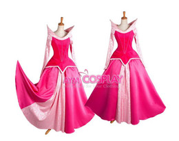 Wholesale New Arrival Princess Sleeping Beauty Dress Cosplay Costume Jacquard For Halloween