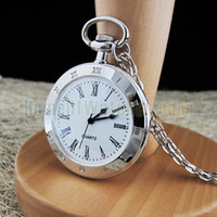 Wholesale Simple Stainless Steel Quartz Pocket Watch NBW0PO6273 SI3