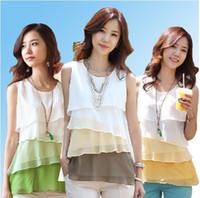 Cheap Chiffon chiffon blouse Best Women Ruffles fashion blouse