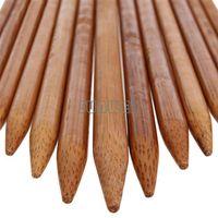 Wholesale 3set set x Bamboo Single Pointed Knitting Needles Sizes Carbonized mm mm