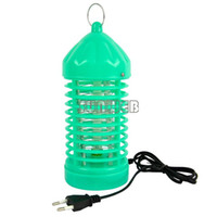 Wholesale 220V Electronic Photocatalyst Flying Insect Mosquito Gnat Bug Moth Killer Fly Catcher Trap Lamp pest repeller EU Plug TK0756