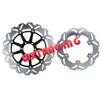 APRILIA Brake Discs 929+824 Full Set Free Shipping Front and Rear Brake Disc Rotor For YAMAHA TDR 125 1989 1990 1991 1992 1993 1994 1995 1996 1997 1998 1999 Black