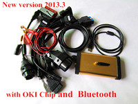 Wholesale NEW R3 TCS cdp pro plus with OKI chip for cars and truck with Bluetooth with full set cables for cars