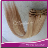Brazilian Hair Straight #12/613 Human hair extensions #12 613 Color straight Real Brazilian Hair Wefts No Shedding Hair Wefts Smoothest and Softest Fast Shipping Hair 595