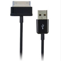 Wholesale 1M FT USB Data Cable Sync Charger Charging Line For Samsung Galaxy Tab P3100 P5100 P1000 N8000 Tab P3200 Tablet PC