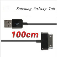 Wholesale 2017 M FT USB Sync Data Cable Charger Charging Line For Samsung Galaxy Tab P1000 P3100 P5100 P7510 N8000 Tablet PC