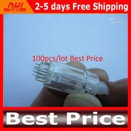 100pcs lot 12 Needle Cartridges Derma Needle Tips For Derma Pen Cartridges Derma Rolling System