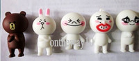 Wholesale LINE APP CHARACTERS quot CONY quot FIGURE USB flash pen drive full capacity usb flash memory