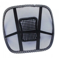 Wholesale Car Office Seat Chair Massage Back Lumbar Support Mesh Ventilate Cushion Pad