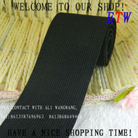 Wholesale The thickening mm Knitting Elastic Tape Elastic Stretch Webbing garment accessories yards for and retail