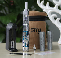 Electronic Cigarette Set Series  New S2000 SMAP Brand Vapor E-Cigarette kit Metal mod huge vapor Protank Atomizer 2000mah battery ego kit in Gift box Drop factory
