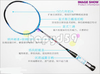 Wholesale free ship original high quality VS carbon titanium badminton racquet badminton racket NT9000 free strings amp grip sporting goods max28lbs