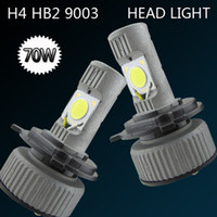 Wholesale LED Front Headlights H4 W High Low Light Fog Bulb Lights V White LED Car Lights Perfect for Car Lighting System