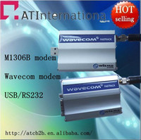 Wholesale HOT M1306B Q2406 With tcp ip wavecom modem for sending SMS MMS