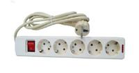 Wholesale 1 m EU Five Outlet Power Strip V HZ A