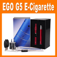 Electronic Cigarette Set Series purple . white .silver .stainless steel  For Herb vaporizer ago G5 with pen dry herb vaporizers elctronic cigarette with liquid herb Via DHL(86050300620)