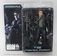 Wholesale NECA The Terminator Action Figure T Cyberdyne Showdown PVC Figure Toy quot cm MVFG132