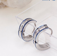 Wholesale Stainless steel stud earrings ear clip simple fashion new factory delivery to the delivery of special offers