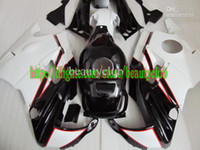 Comression Mold For Honda CBR600 F2 Wholesale - Free custom- black white for HONDA CBR600 91 92 93 94 CBR600F2 91-94 CBR 600 F2 1991-1994 1991 1994 fairing y63