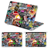 Wholesale hot sell design for macbook air skin stickers inch vinyl PVC skins for Apple laptop protector skins for Macbook pro