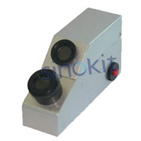 Wholesale Professional Gemological Test Tool Kits GEMKITS E with Gem refractometer RGM Grating Spectroscope DIchroscope X Loupe