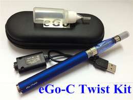 eGo-C Twist Electronic Cigarette kits Variable Voltage Battery 650-1100MAH E Cigarette Kits eGo CE4 eGo-T Cigarette With eGo CE5 Clearomizer