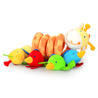 Cloth toys baby - New multifunctional baby bed hanging car hanging newborn toy Baby Rattles baby mobiles years