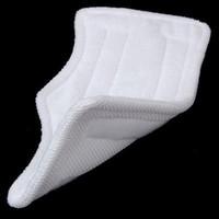 Aluminum shark steam mop - x16cm Replacement Pads For Shark Steam Mop Microfiber Machine Washable Cloths White Color