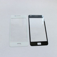 Wholesale Outer Front Glass Lens Screen External Digitizer Touch Screen Cover for Samsung Galaxy S2 SII I9100 With Brand Logo