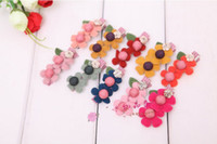 Barrettes Blending Solid maxi freeshippng M32 Fashion children headdress hair wholesale value double Sun flower CLIP barrette