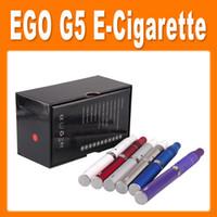 Electronic Cigarette Set Series as pictures Ego G5 Electronic Cigarette with Pen Dry Herb Vaporizers Suit for Liquid Herb Cut tobacco E Cigarette Top Quality (86050300620)