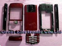 For Blackberry blackberry pearl - 20pc Full cell phone housing for blackberry Pearl mobile phone cover repair case keypad parts faceplates drop shipping