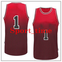 Wholesale Bullls Fadeaway Fashion basketball jerseys Derrick Rose revolution swingman jersey brand sports jerseys embroidered basketball uniform