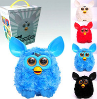 Wholesale 7 Color Phoebe Elves Talking plush electronic pet toys furby electric smart phoebe elves figurines intelligent