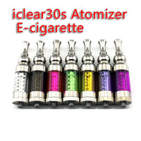 Electronic Cigarette Set Series  IC30S Innokin Iclear 30s Clearomizer iclear30s Replaceable Duil Coil Atomizer Itaste Nest Cleartomizer For Itaste VTREGO Electronic Cigarett