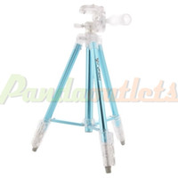 Wholesale WT3041 Professional Ultralight Portable Aluminum Alloy Tripod for Digital Camera Blue