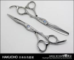 Wholesale Hair Scissors quot pc Barber Scissors Shear Cutting Thinning Scissor Thinning Straight Snips Pinking Shears
