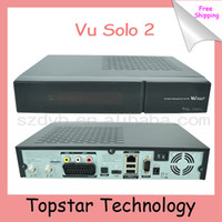 USB TV Tuners DMB-TH  2014 Vu+Solo2 Twin Tuner Decoder vu solo 2 vusolo2 Linux Receiver 1300 MHz Cpu 2 DVB-S2 Tuner STB Digital sStellite TV Receiver