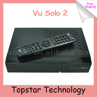 USB TV Tuners DVB-S  Hot Sell Vu+Solo2 Twin Tuner Decoder Vu Solo 2 Vusolo2 Linux Receiver 1300 MHz Cpu 2 DVB-S2 STB Digital sStellite TV Receiver
