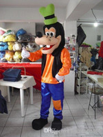 Wholesale 2014 new Fashion New Custom made New Goofy Dog Mascot Costume goofy costumes character